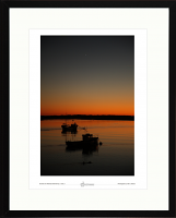 Sunset over Aberdyfi (Aberdovy) study-01