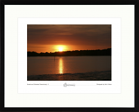 Sunset over Chichester Channel - study 2