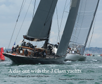 A day out with the J Class Yachts
