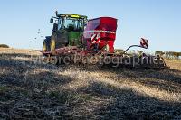 Drilling of SKYFALL wheat using a John Deer 7250 tractor and Simba Horsch Sprint