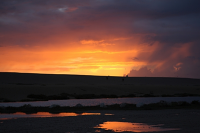 Chesil Beach sunset - detail 2