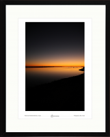 Sunset over Aberdyfi (Aberdovy) study-02
