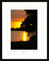 Sunset over Chichester Channel - study 1