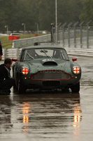 Racing Aston Martin in the wet!